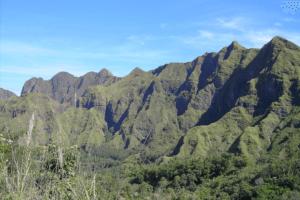 Montagnes de Bajawa à Flores sur les Iles Nusa Tenggara