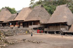 Village de Bena à Flores sur nusa tenggara