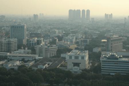 Ville de Jakarta capitale d'Indonésie