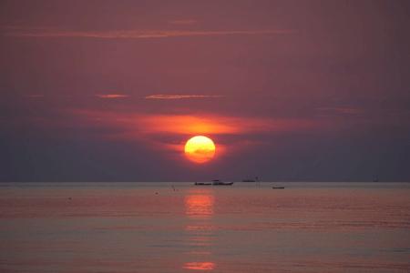 Coucher de soleil a Karimunjawa