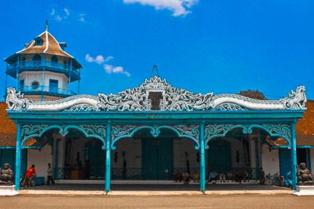 Museum Keraton Surakarta - Palais du sultan de Solo à Java