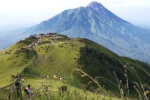 Ascension volcan Merbabu (Java)