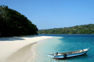 Les îles handeuleum à Flores