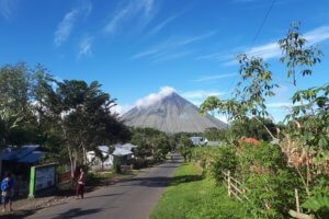 Volcan à Bajawa Flores