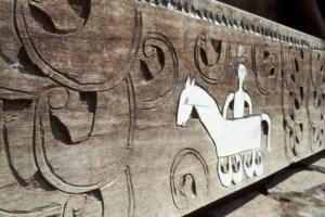 Flores -Bena Village Traditionnel sculpture