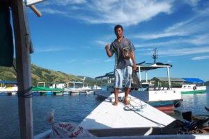 Pêcheur à Riung Flores