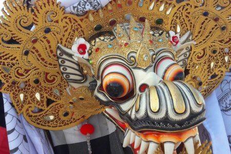 Masque du Barong à Bali