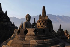 Temple de Borobudur à Java