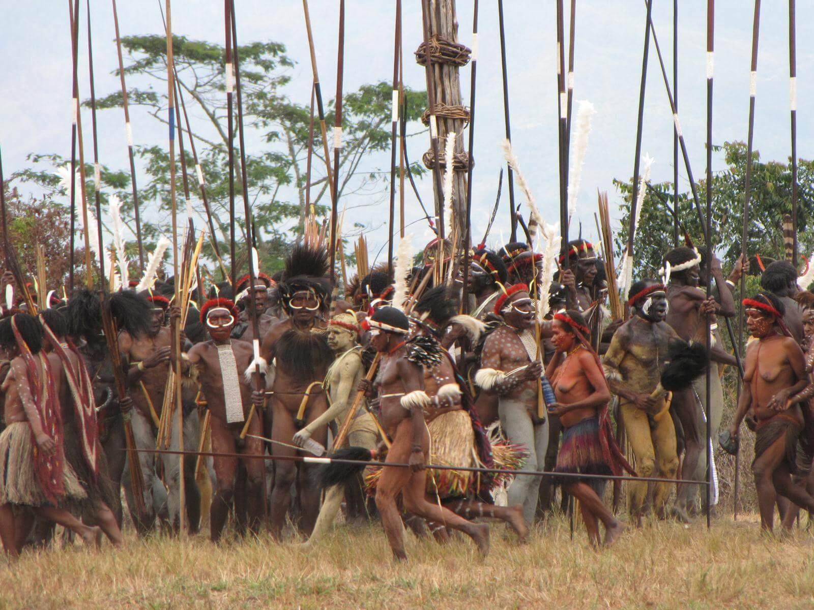 Festival vallée de Baliem en Papouasie occidentale