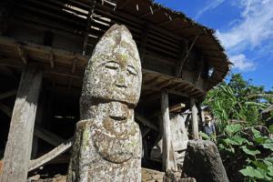 Statue de Nias Sumatra
