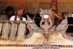 Musiciens Bataks Samosir Sumatra