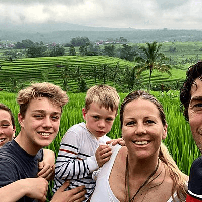 Voyageurs Archipel360 sur Bali - Voyage en Famille