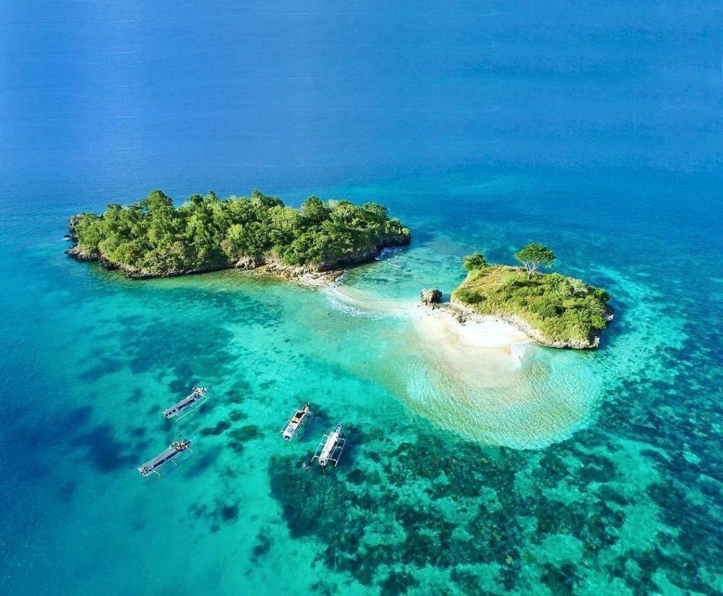 La plage de Gili Petelu, Lombok