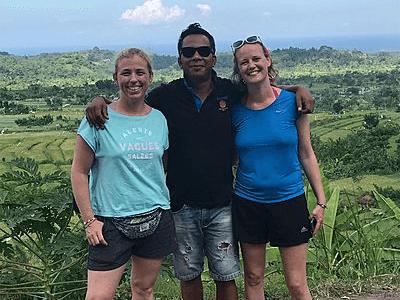 Séance photo à Bali