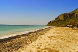 La plage de Tanjung Bastien Maumere à Flores