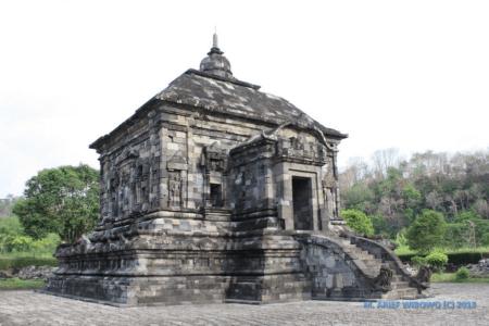 Le temple de Lumbung à Java
