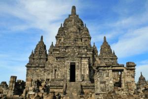Le temple de Candi Sewu a Java