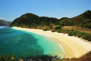 La plage de Nawi à Lombok