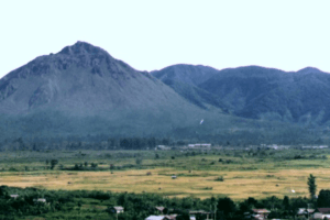 Vue sur le volcan Geureudong à Sumatra