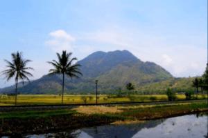 Le mont Kendang volcan de Java