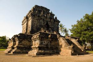 Temple Plaosan à Java