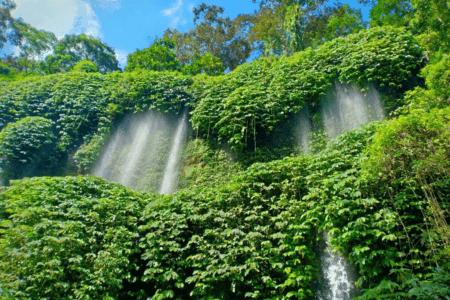 La cascade de Benang Kelambu a lombok