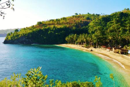 La plage de Crystal à Nusa Penida