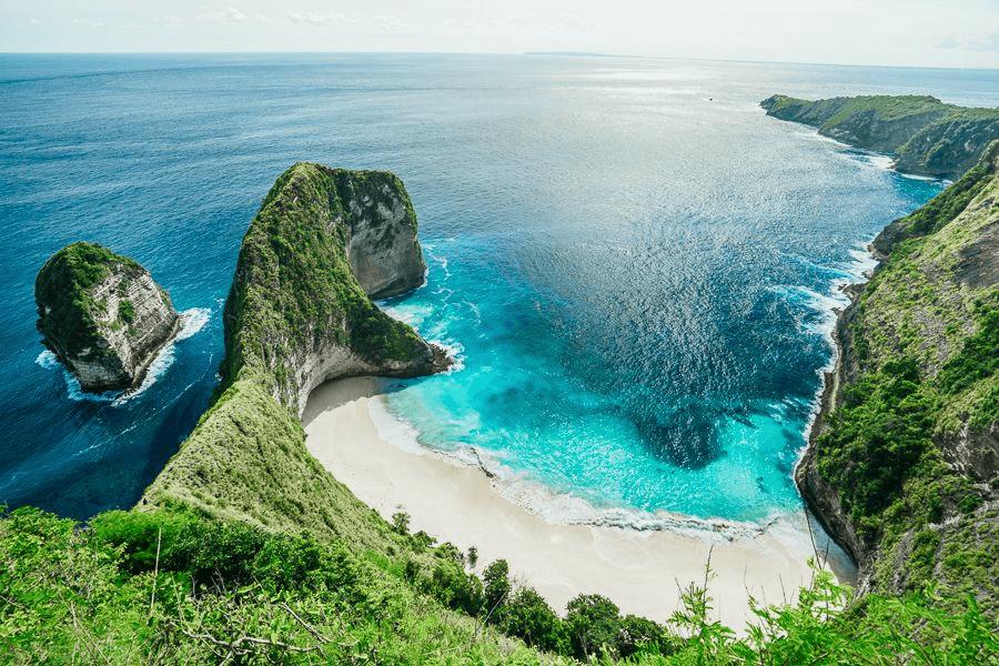 Une magifique plage de corail