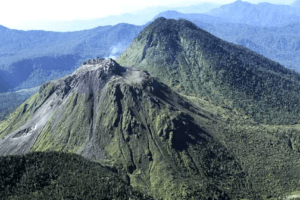 Le volcan Peuet Sagoe a Sumatra
