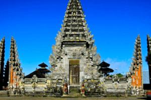Le temple de Pura Ulun Batur à Bali