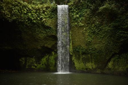 La cascade Tibumana, nichée dans la jungle