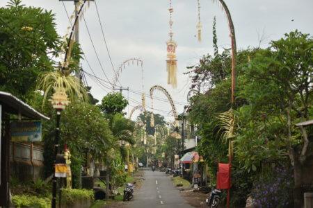 Décoration de Cérémonie religieuse à Bali
