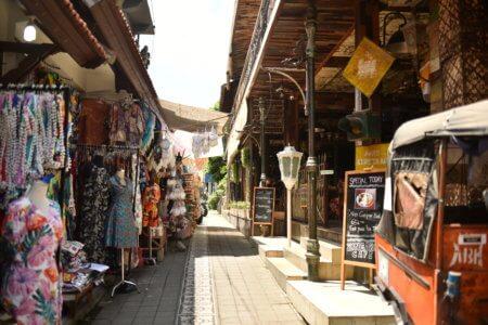 Marché d'art d'Ubud