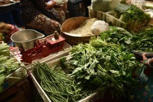 Le marché aux fruits et légumes d'Ubud